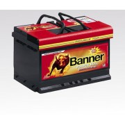ACUMULATOR BANNER POWER BULL 60AH - borna normala