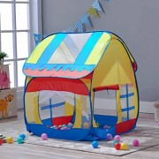 Children Play Tent for Kids Toddler Outdoor Indoor Pop up Playhouse Ball Pit 33.5''x39.4'' by A LOVE BRAND