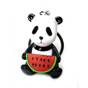 Blue Aura 1 PC Random Cute Panda PVC Keychain Collectible Gifting Bike Keychain Car Keychain