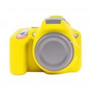 Nikon PULUZ Soft Siliconen beschermhoes voor Nikon D3500(Geel)