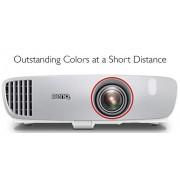 BenQ Proyector 1080p para Casa y Videojuegos (W1210ST), Full HD, Bocinas Integradas 10Wx2, Bajo Input Lag para fluidez en el juego, DLP, 1920x1080, 2200 Lúmenes, Alto Contraste 15000:1, Superior Tiro Corto, 3D, HDMI