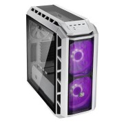 Coolermaster Mastercase H500p Mid Tower Case - Mesh White With Rgb Fans