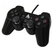Joypad Vibration para Playstation I e II 12 Botões - Clone