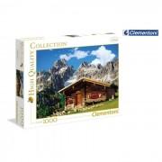 Clementoni puzzle austria mountain house 1000 pezzi