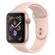 Apple Watch Series 4 GPS + Cellular 40mm Alumínio Dourado com Bracelete Desportiva Rosa