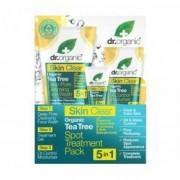 Dr. Organic Skin Clear Pattanáskezelő 5 az 1-ben szett