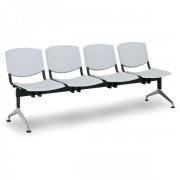 Kovo Praktik Plastové lavice Design, 4-sedák šedá