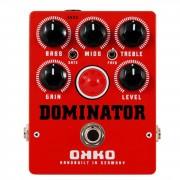 OKKO Guitar Effects Dominator Mk II Red