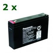 Panasonic 2x6V 7.2Ah F2 (KIT26)