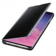 Оригинален калъф за Samsung Galaxy S10e – Clear view cover, черен, EF-ZG970CBEGWW