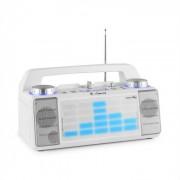Energy XD2 Party-Lautsprechersystem Mixer Bluetooth USB AUX MP3 weiß