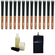 """Avon Pro D2x Orange/Black 0.580"""" Greppkit - 13 grepp, klämma, vätska, tejp, handduk"""
