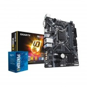 Combo Actualización Intel Pentium G5400 Gold 3.7ghz H310-Negro