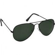 Laurels Aristocrat Men Green Color Polarized Aviator Sunglass (LS-AST-040202)