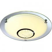 Plafonier elegant diametru 31,5cm, cristale K5, LED Amada 48240 GL