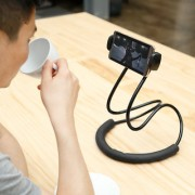 Lazy Bracket Phone Holder Universal Hanging on Neck Rotating Stand on Table Smart Multiple Functions Mobile Phone Mount