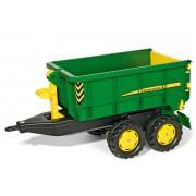 Rolly Toys Container John Deere Släpvagn