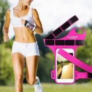 FLOVEME csuklóra csatolható tok futáshoz, sportoláshoz - 5.5 inch - PINK