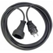 Minoségi muanyag hosszabbítókábel 25m fekete H05VV-F 3G1,5