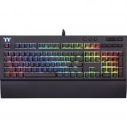 Tastatura Gaming Tt eSPORTS by Thermaltake Premium X1 RGB Cherry MX Silver Mecanica