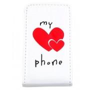 Apple My Precious Phone - Vit iPhone 4/4S Skal