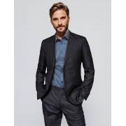 Brice Veste de costume coupe droite stretch Bleu Fantaisie taille: 52