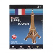 Asian Hobby Crafts Mini 3D Puzzle World's Greatest Architecture Series - Eiffel Tower