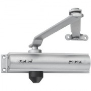 Hydraulic 45kg Automatic Aluminium Door Closer (Silver) - MI200