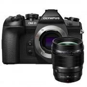 Olympus OM-D E-M1 Mark II zwart + Olympus M.Zuiko Digital 45MM F/1.2 ED PRO