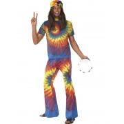 1960'S Tie Dye Hippy - LARGE