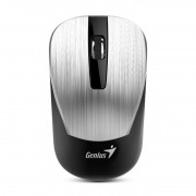 Mouse, Genius NX-7015 BlueEye, Wireless, Silver, USB (31030119105)
