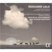 Video Delta Lao,Edouardo / Liege Royal Philharmonic - Edouard Lalo: Concertante Works For Violin Cello - CD