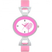 The Shopoholic Designer Pink Love Tree Dial Awesome Analog Watches For Women-Watches For Girls