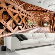 Fototapet - Wooden Bridge