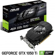 Tarjeta Video ASUS Phoenix GeForce GTX 1050TI 4GB GDDR5