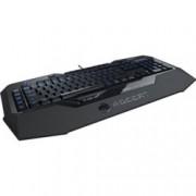 Клавиатура ROCCAT Isku FX, гейминг, подсветка, черна, USB