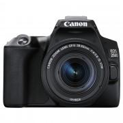 Canon EOS 250D hus, svart + EF-S 18-55/4,0-5,6 IS STM + EF 50/1,8 STM