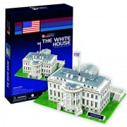 CubicFun 65 Piece 3D Puzzle: The White House