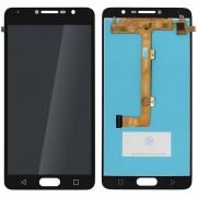 Clappio Repuesto Pantalla LCD/Táctil Negra para Alcatel Pop 4S