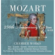 W. A. Mozart - 250th anniversary edition chamber works (0825646233526) (16 CD)