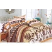 Lenjerie de pat pentru 2 persoane cu 4 piese Casa M-400