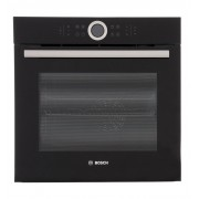 Bosch Serie 8 HBG634BB1B Single Built In Electric Oven - Black
