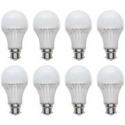 Sunrise Xingda Led Bulb 9 Watt Pack of 8 White