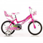 Dino Bikes Bicicletta Bambina Flappy 14 Pollici