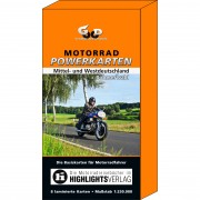 Road Concept Motorrad Powerkarten Box 2 West- und Mitteldeutschland