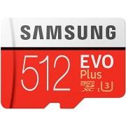 Samsung MicroSDXC 512GB EVO Plus UHS-I U3 + SD adapter