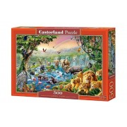 Puzzle Raul din jungla, 500 piese