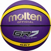 molten Basketball BGR7-VY (Indoor/Outdoor) - lila/gelb | 7