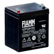 Fiamm Batteria al Piombo 12V 5Ah (Faston 6,3mm)