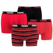 Puma 4-Pack Combi Basic/Stripe Red-M